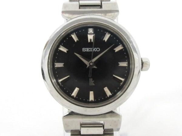 SEIKO(セイコー) 腕時計 ルキア V117-0AG0 レディース 黒