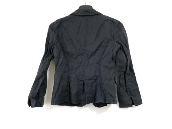 グリーンレーベルリラクシング ジャケット サイズ38 M レディース ダークネイビー 麻