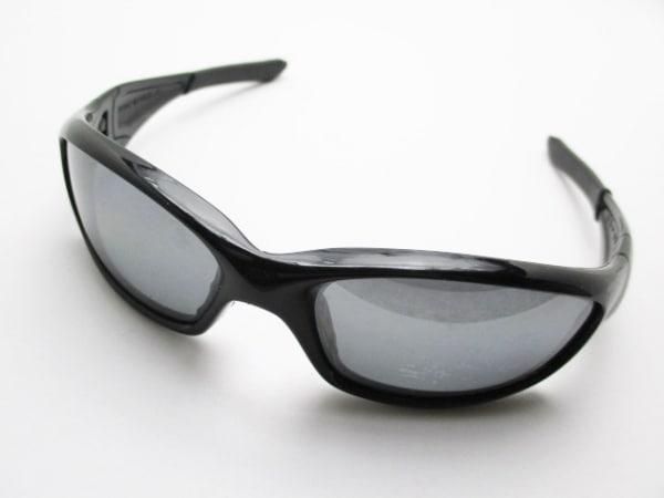 OAKLEY(オークリー) サングラス straight ダークグレー×黒 プラスチック