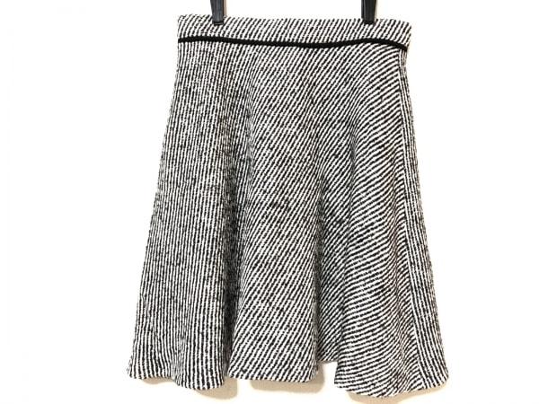 アプワイザーリッシェ スカート サイズ2 M レディース 黒×アイボリー×ブラウン