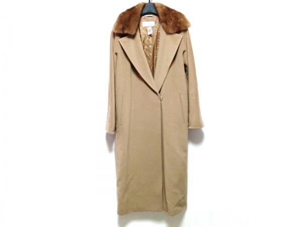マックスマーラ コート サイズ40 M レディース ブラウン×ダークブラウン 冬物