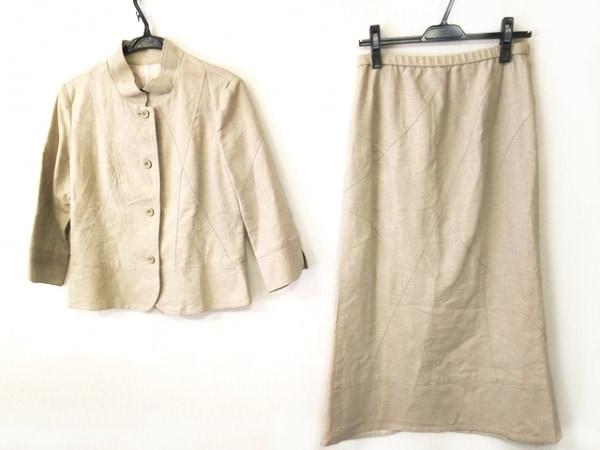 Leilian(レリアン) スカートスーツ サイズ9 M レディース美品  ライトグレー