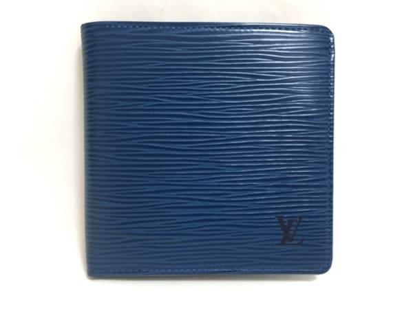 ルイヴィトン 2つ折り財布 エピ ポルト ビエ・カルト クレディ モネ M63545
