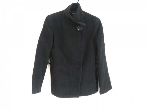 ef-de(エフデ) コート サイズ7 S レディース 黒 冬物