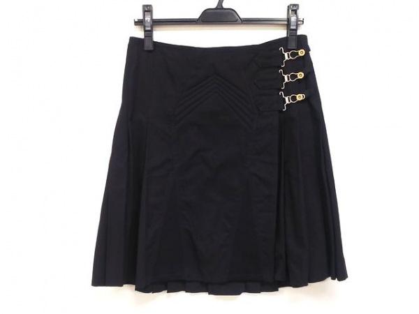 JeanPaulGAULTIER(ゴルチエ) 巻きスカート サイズ40 M レディース美品  黒 FEMME