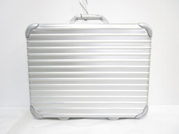 RIMOWA(リモワ) アタッシュケース シルバー ロックナンバー【000】 金属素材