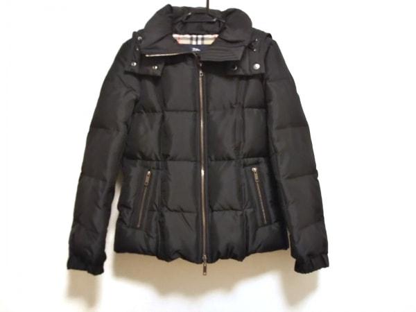 バーバリーロンドン ダウンジャケット サイズ38 L レディース美品  黒 冬物