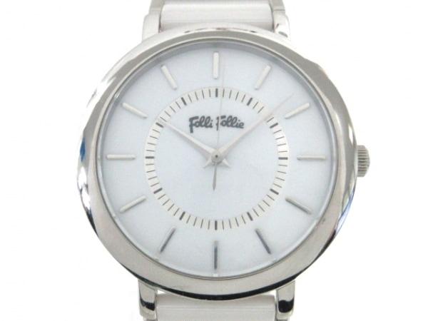 FolliFollie(フォリフォリ) 腕時計 WF5T132BPW レディース 白