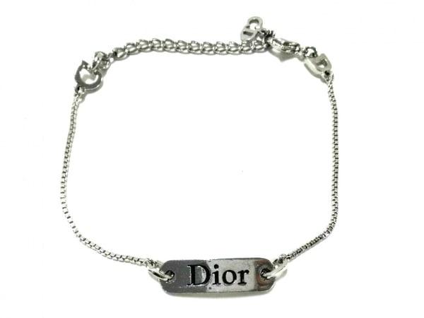 ChristianDior(クリスチャンディオール) ブレスレット美品  金属素材 シルバー