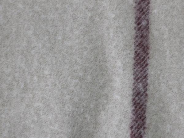 バーバリーロンドン ポンチョ レディース ベージュ×黒×レッド チェック柄/フリンジ