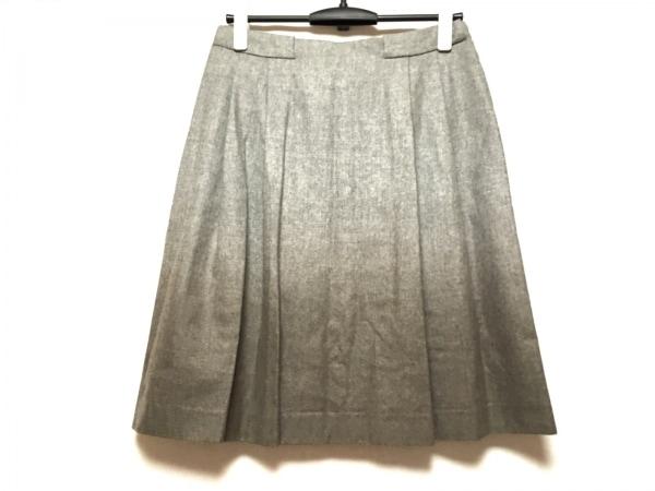 FABIANA FILIPPI(ファビアーナフィリッピ) スカート サイズS レディース美品  グレー