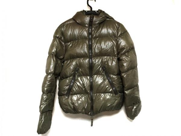 デュベティカ ダウンジャケット サイズ46 L レディース Vega ダークグリーン 冬物