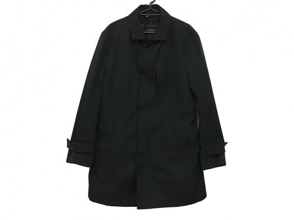 EPOCA(エポカ) コート サイズ52 メンズ美品  黒 UOMO/春・秋物