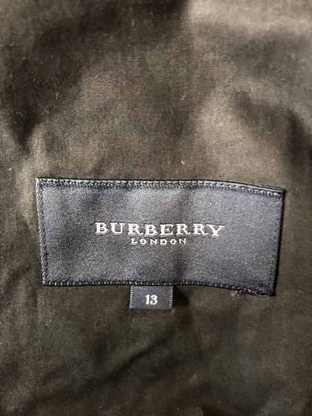 Burberry LONDON(バーバリーロンドン) コート サイズ13 L レディース 黒 春・秋物