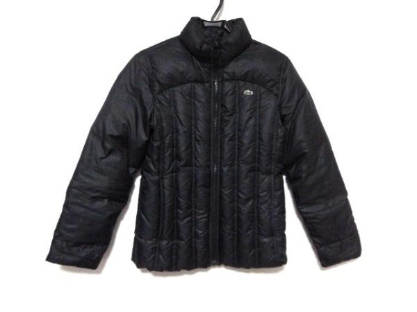 Lacoste(ラコステ) ダウンジャケット サイズ40 M レディース 黒 冬物
