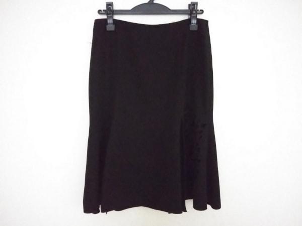 ANNA MOLINARI(アンナモリナーリ) スカート サイズ40 M レディース美品  黒