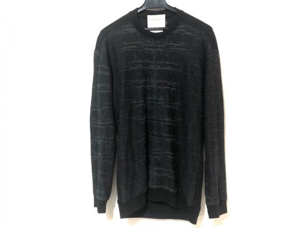 ステファンシュナイダー 長袖カットソー サイズ3 L メンズ 黒×グレー