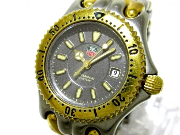 TAG Heuer(タグホイヤー) 腕時計 プロフェッショナル200 WG1320-2 レディース 黒