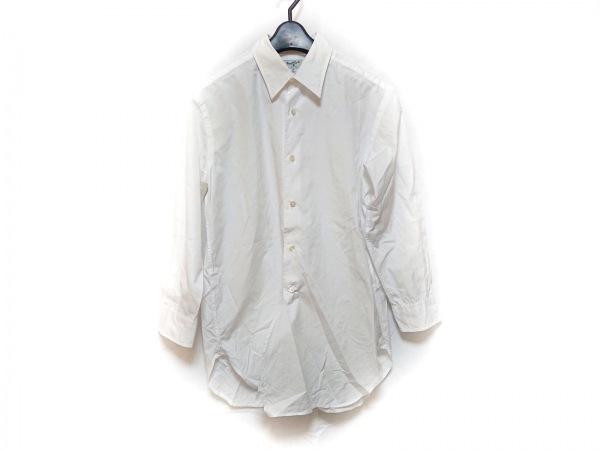 MargaretHowell(マーガレットハウエル) 長袖シャツ サイズ15.5 メンズ 白