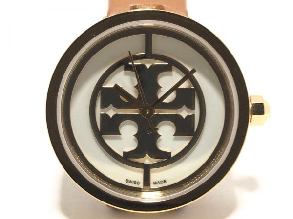 TORY BURCH(トリーバーチ) 腕時計 TRB4018 レディース 革ベルト 白