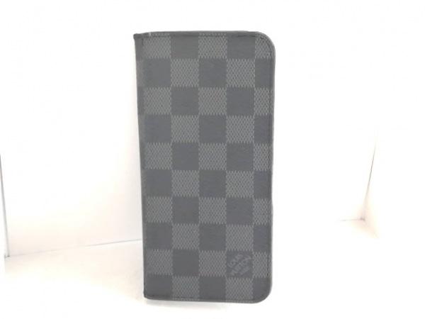 ルイヴィトン 携帯電話ケース ダミエグラフィット IPHONE 7+ & 8+・フォリオ N63352