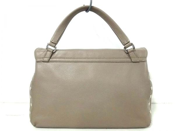 ZANELLATO(ザネラート) ハンドバッグ美品  ポスティーナ ベージュ レザー