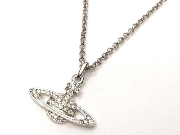 VivienneWestwood(ヴィヴィアンウエストウッド) ネックレス美品  金属素材 シルバー
