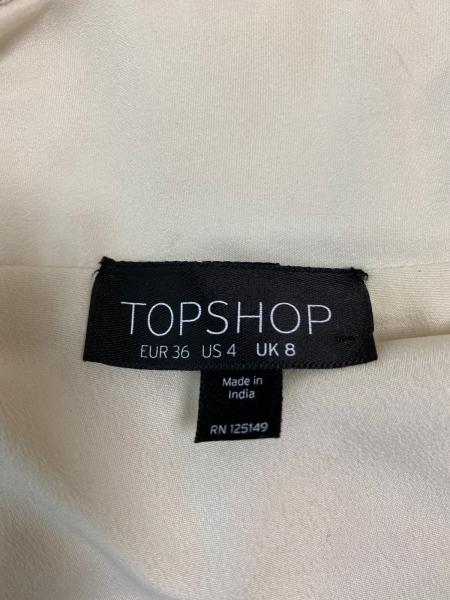 TOPSHOP(トップショップ) ジャケット サイズ36 M レディース アイボリー