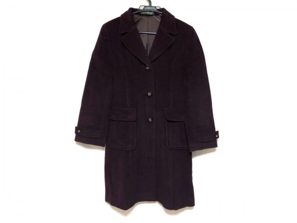 NEW YORKER(ニューヨーカー) コート サイズ9 M レディース美品  - - ボルドー 長袖/冬