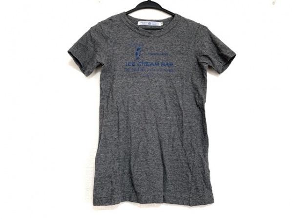 オールドマンズテーラー 半袖Tシャツ サイズM レディース美品  グレー×ブルー