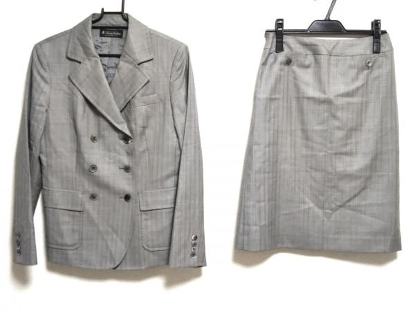 BrooksBrothers(ブルックスブラザーズ) スカートスーツ レディース美品  グレー