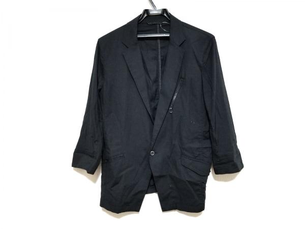 NICOLE CLUB(ニコルクラブ) ジャケット サイズ48 XL メンズ美品  黒 薄手