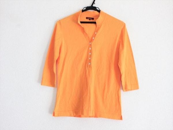 AMACA(アマカ) セーター サイズ38 M レディース美品  オレンジ