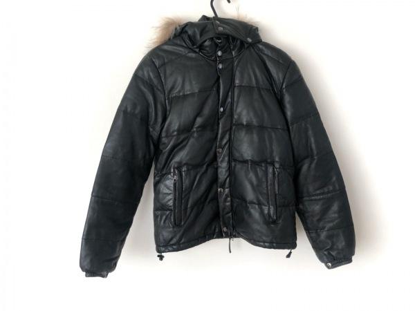 アーバンリサーチ ダウンジャケット サイズ38 M レディース 黒 冬物/レザー
