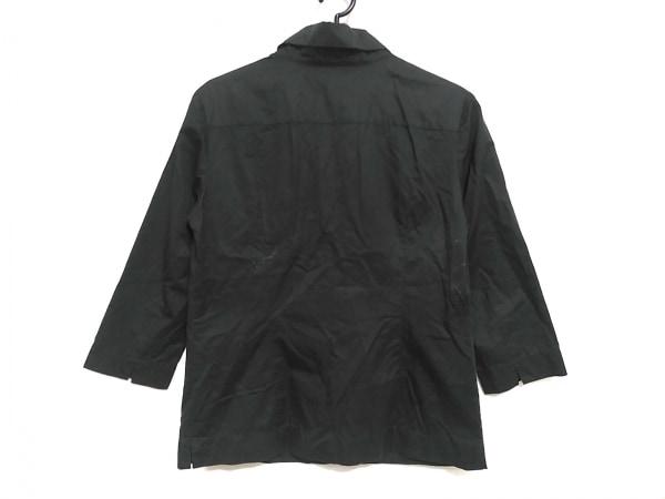バーバリーロンドン 七分袖シャツブラウス サイズ38 L レディース美品  黒