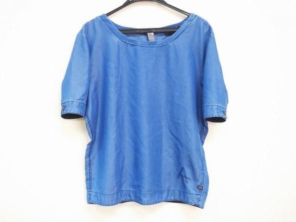 G-STAR RAW(ジースターロゥ) 半袖カットソー サイズS レディース美品  ブルー