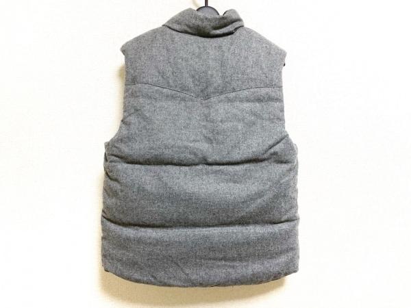PENDLETON(ペンドルトン) ダウンベスト サイズM メンズ美品  黒×グレー×マルチ 冬物