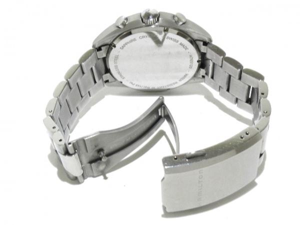 ハミルトン 腕時計 カーキパイロット パイオニアクロノ メンズ 黒 5