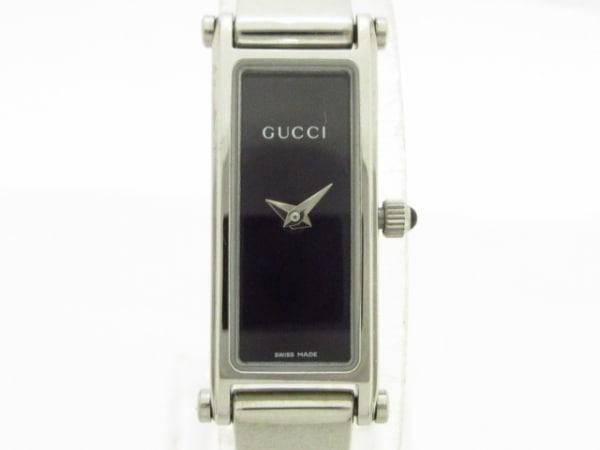 GUCCI(グッチ) 腕時計美品  1500L レディース 黒