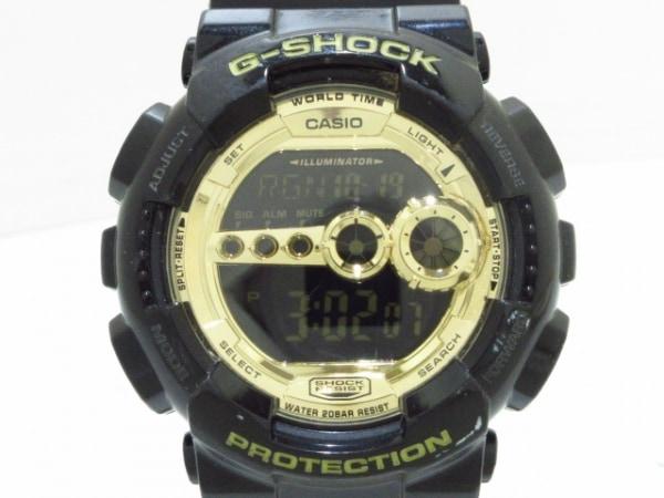 CASIO(カシオ) 腕時計美品  G-SHOCK GD-100GB メンズ ゴールド