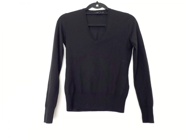 RalphLauren(ラルフローレン) 長袖セーター サイズM レディース美品  黒