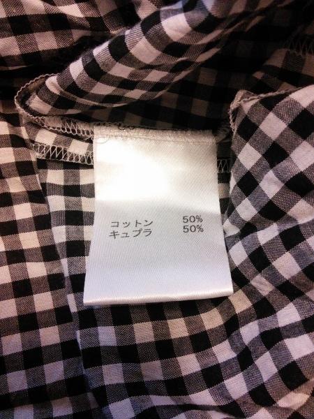 Leilian(レリアン) チュニック サイズ13 L レディース 黒×白 チェック柄