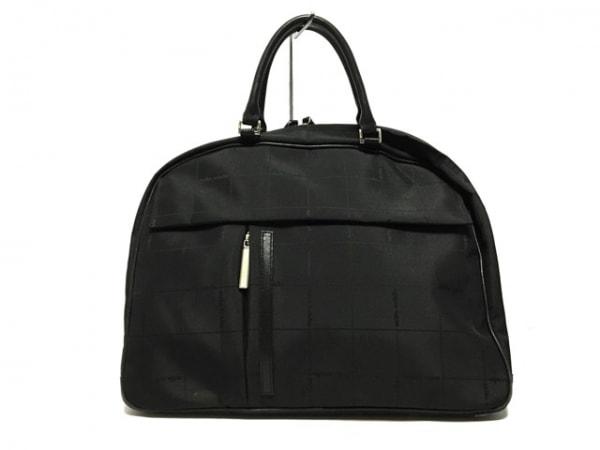 mila schon(ミラショーン) ハンドバッグ - - 黒 ナイロン×レザー