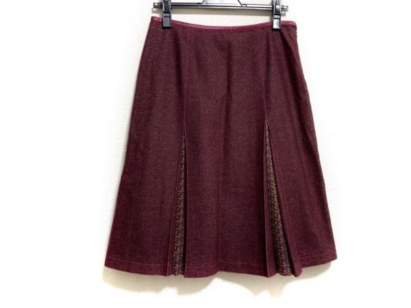 ETRO(エトロ) スカート サイズ42 M レディース美品  ボルドー