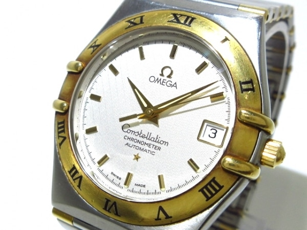 OMEGA(オメガ) 腕時計 コンステレーション 1202.30 メンズ SS×K18YG/要OH アイボリー