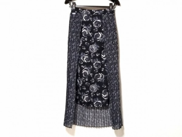CLANE(クラネ) ロングスカート サイズ36 S レディース美品  プリーツ/花柄
