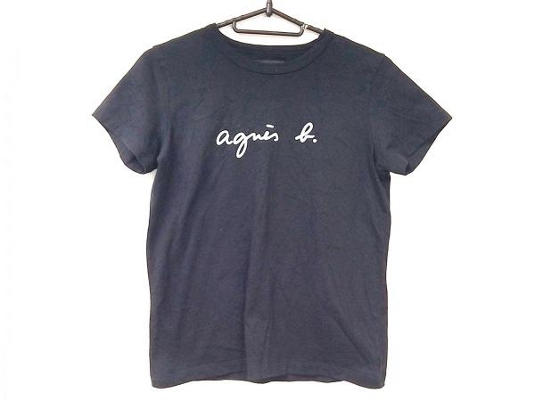 agnes b(アニエスベー) 半袖Tシャツ サイズTイ レディース美品  黒