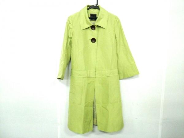 FOXEY(フォクシー) コート サイズ38 M レディース ライトグリーン 春・秋物