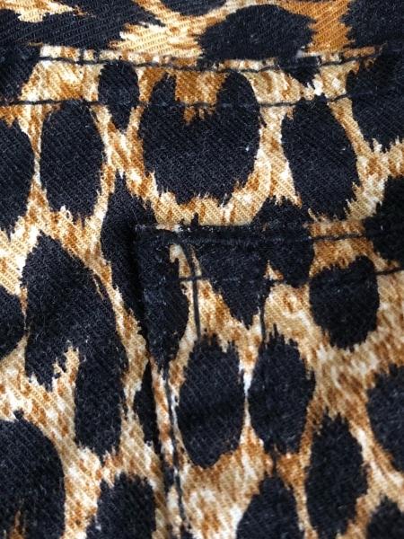エデュケーションフロムヤングマシーン パンツ サイズ3 L レディース 豹柄