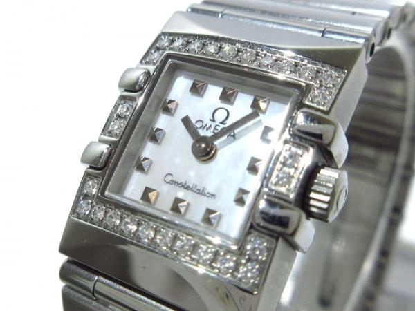 OMEGA(オメガ) 腕時計美品  コンステレーションカレ 1535.71 レディース 白